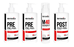 Peeling-urile chimice DERMEDICS® – cele mai sigure peeling-uri chimice